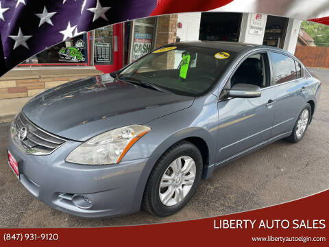 2010 Nissan Altima for sale at Liberty Auto Sales in Elgin IL