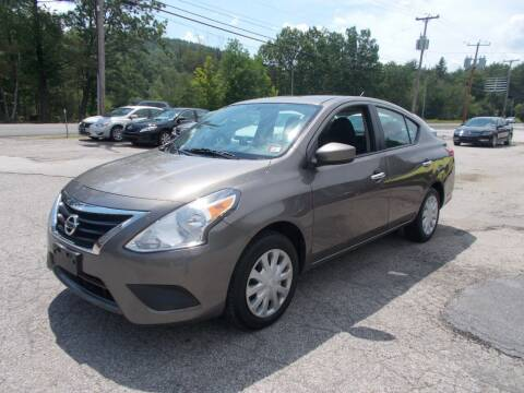 2017 Nissan Versa for sale at Manchester Motorsports in Goffstown NH