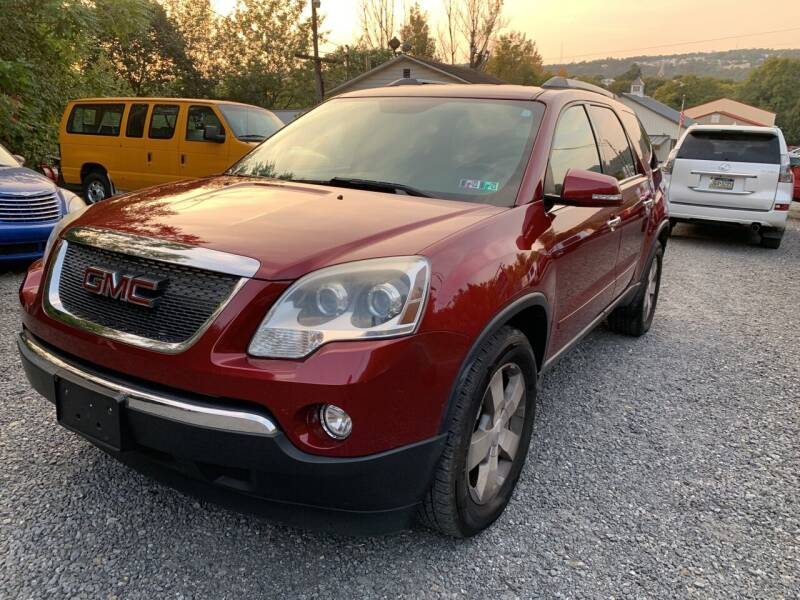 2011 GMC Acadia for sale at JM Auto Sales in Shenandoah PA