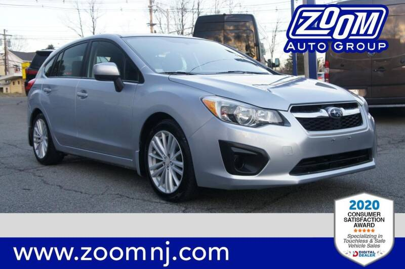 2012 Subaru Impreza for sale at Zoom Auto Group in Parsippany NJ