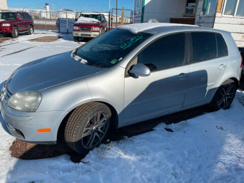 2007 Volkswagen Rabbit for sale at PYRAMID MOTORS - Pueblo Lot in Pueblo CO