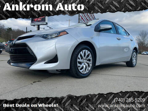 2019 Toyota Corolla for sale at Ankrom Auto in Cambridge OH