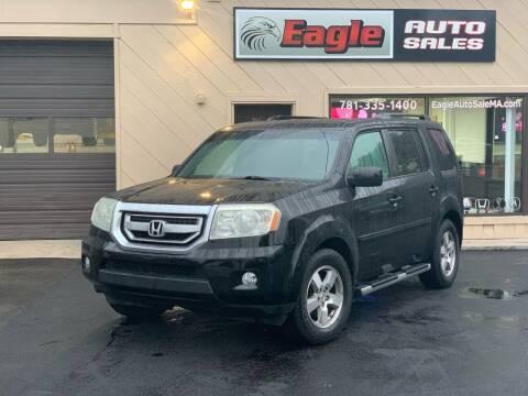 2010 Honda Pilot for sale at Eagle Auto Sales LLC in Holbrook MA