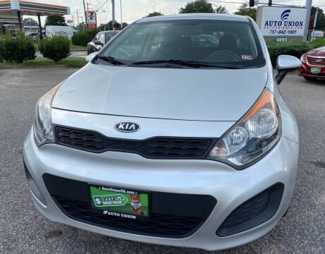 2012 Kia Rio 5-Door for sale at Auto Union LLC in Virginia Beach VA
