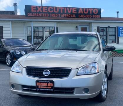 2006 Nissan Altima for sale at Executive Auto in Winchester VA