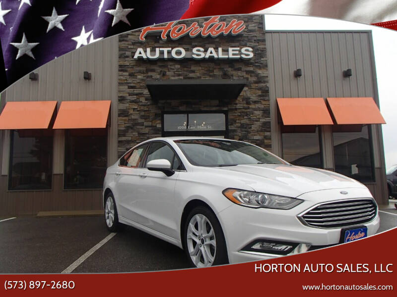 2018 Ford Fusion for sale at HORTON AUTO SALES, LLC in Linn MO