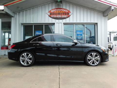 2014 Mercedes-Benz CLA for sale at Motorsports Unlimited in McAlester OK