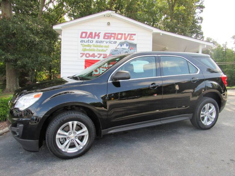2015 Chevrolet Equinox for sale at Oak Grove Auto Sales in Kings Mountain NC