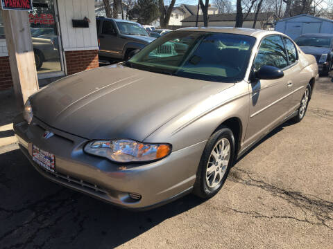2002 Chevrolet Monte Carlo for sale at New Wheels in Glendale Heights IL