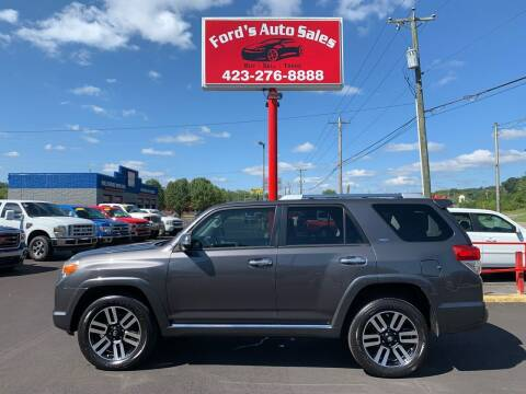 2012 Toyota 4Runner for sale at Ford's Auto Sales in Kingsport TN