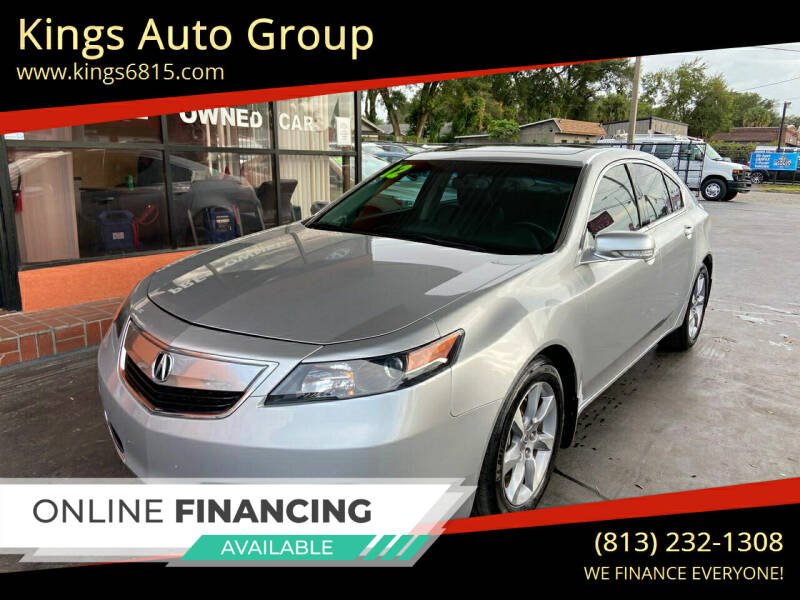 2012 Acura TL for sale at Kings Auto Group in Tampa FL