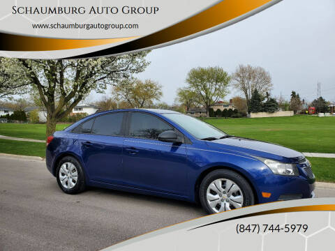 2013 Chevrolet Cruze for sale at Schaumburg Auto Group in Schaumburg IL