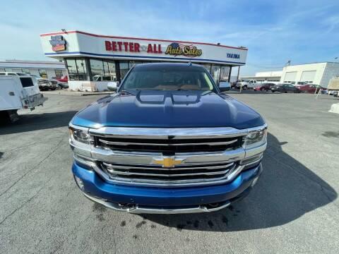 2017 Chevrolet Silverado 1500 for sale at Better All Auto Sales in Yakima WA
