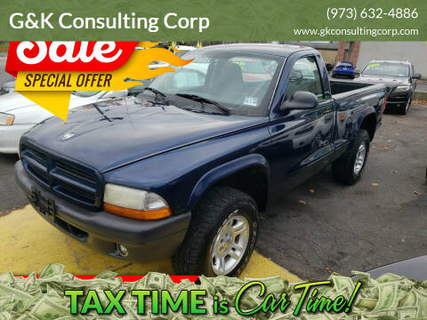 2003 Dodge Dakota for sale at G&K Consulting Corp in Fair Lawn NJ