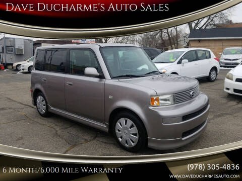 2006 Scion xB for sale at Dave Ducharme's Auto Sales in Lowell MA