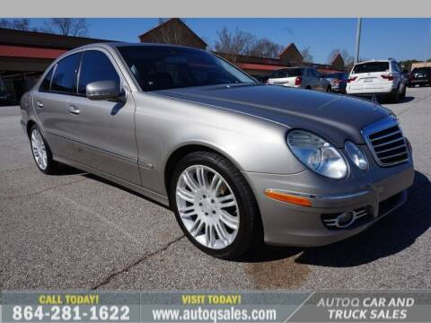 2008 Mercedes-Benz E-Class for sale at Auto Q Car and Truck Sales in Mauldin SC
