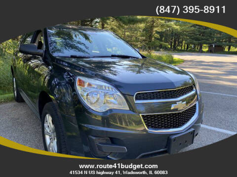 2014 Chevrolet Equinox for sale at Route 41 Budget Auto in Wadsworth IL