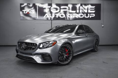 2018 Mercedes-Benz E-Class for sale at TOPLINE AUTO GROUP in Kent WA