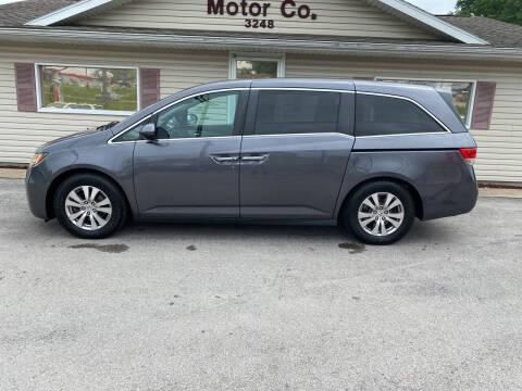 2016 Honda Odyssey for sale at Bic Motors in Jackson MO