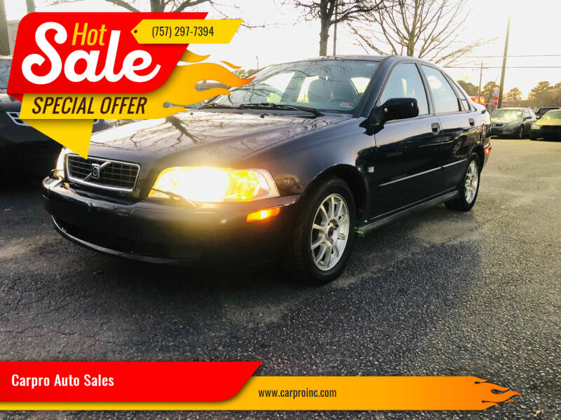 2004 Volvo S40 for sale at Carpro Auto Sales in Chesapeake VA