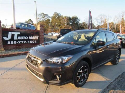 2018 Subaru Crosstrek for sale at J T Auto Group in Sanford NC