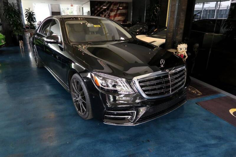 2020 Mercedes-Benz S-Class for sale at OC Autosource in Costa Mesa CA