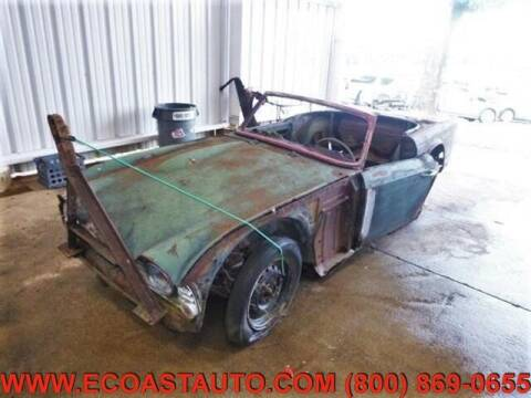 1966 Triumph TR4 for sale at East Coast Auto Source Inc. in Bedford VA