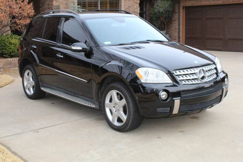 2008 Mercedes-Benz M-Class for sale at CANTWEIGHT CLASSICS in Maysville OK