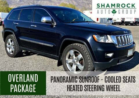 2011 Jeep Grand Cherokee for sale at Shamrock Group LLC #1 in Pleasant Grove UT
