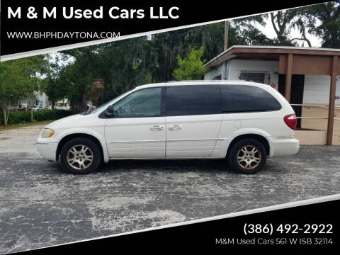 2005 Chrysler Town and Country for sale at M & M Used Cars LLC in Daytona Beach FL