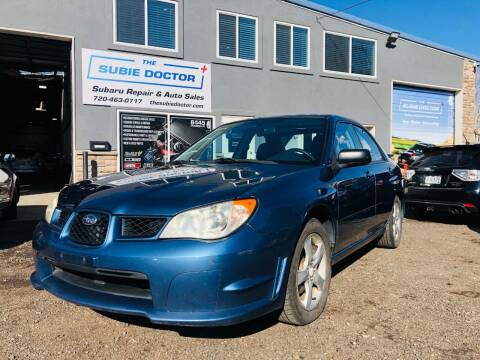 2007 Subaru Impreza for sale at The Subie Doctor in Denver CO