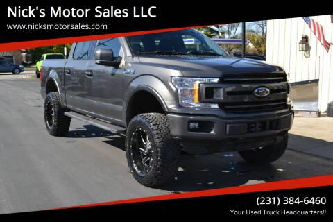 2018 Ford F-150 for sale at Nick's Motor Sales LLC in Kalkaska MI