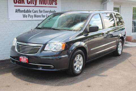 2013 Chrysler Town and Country for sale at Oak City Motors in Garner NC