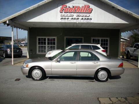 1997 Acura RL for sale at Foothills Used Cars LLC in Campobello SC