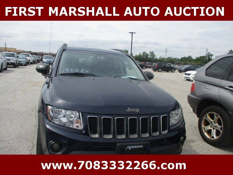 2013 Jeep Compass for sale at First Marshall Auto Auction in Harvey IL