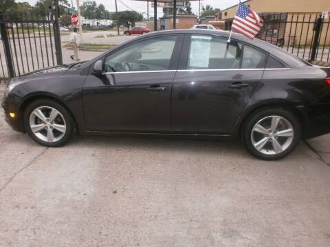 2015 Chevrolet Cruze for sale at Under Priced Auto Sales in Houston TX