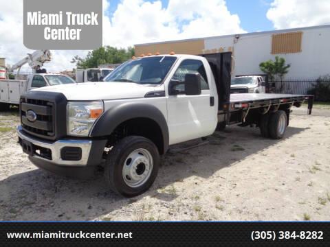 2012 Ford F-550 Super Duty for sale at Miami Truck Center in Hialeah FL