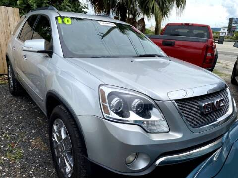 2010 GMC Acadia for sale at ROCKLEDGE in Rockledge FL
