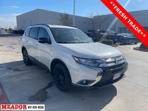 2018 Mitsubishi Outlander for sale at Meador Dodge Chrysler Jeep RAM in Fort Worth TX