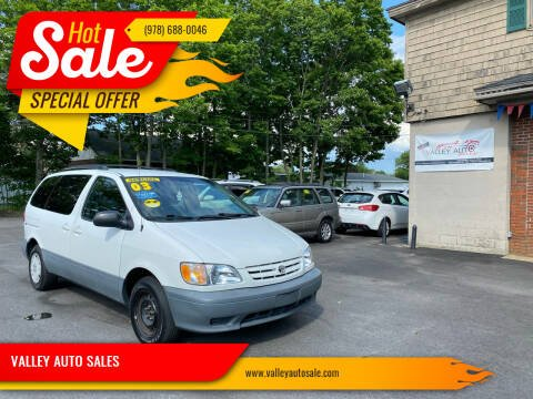 2003 Toyota Sienna for sale at VALLEY AUTO SALES in Methuen MA