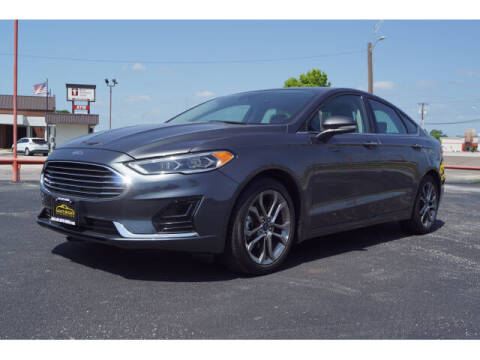2020 Ford Fusion for sale at Monthly Auto Sales in Fort Worth TX