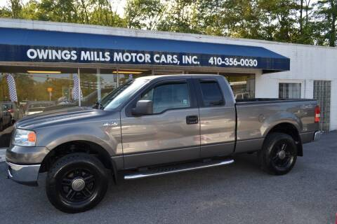 2006 Ford F-150 for sale at Owings Mills Motor Cars in Owings Mills MD