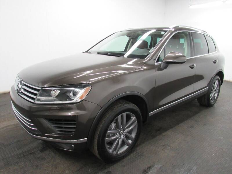 2015 Volkswagen Touareg for sale at Automotive Connection in Fairfield OH