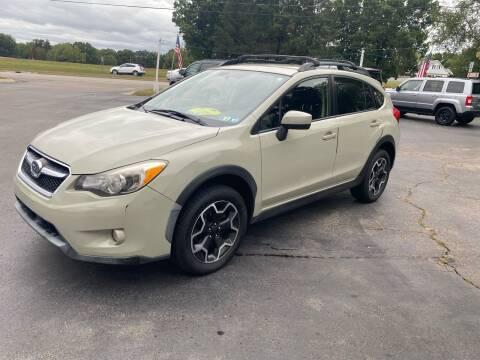 2015 Subaru XV Crosstrek for sale at Rombaugh's Auto Sales in Battle Creek MI