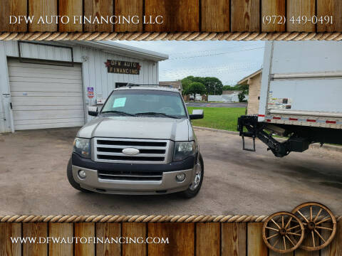 2008 Ford Expedition EL for sale at Bad Credit Call Fadi in Dallas TX
