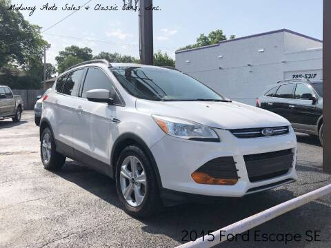2015 Ford Escape for sale at MIDWAY AUTO SALES & CLASSIC CARS INC in Fort Smith AR