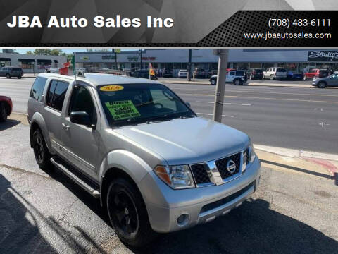 2006 Nissan Pathfinder for sale at JBA Auto Sales Inc in Stone Park IL
