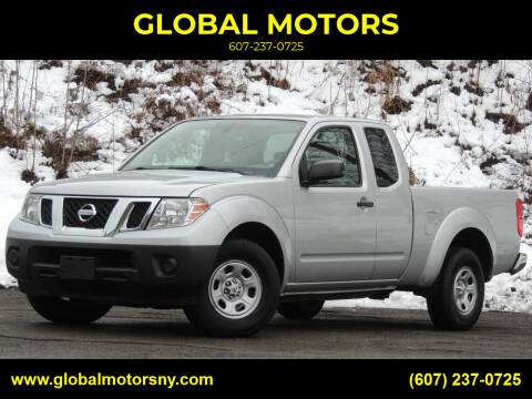 2013 Nissan Frontier for sale at GLOBAL MOTORS in Binghamton NY
