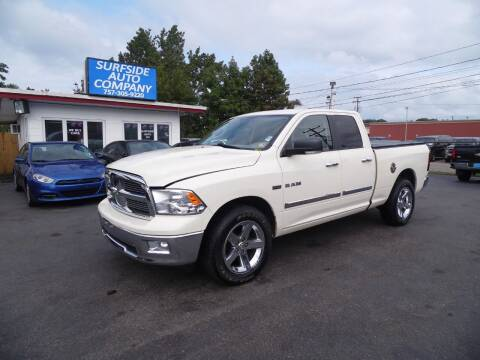 2010 Dodge Ram Pickup 1500 for sale at Surfside Auto Company in Norfolk VA