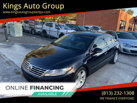 2013 Volkswagen CC for sale at Kings Auto Group in Tampa FL